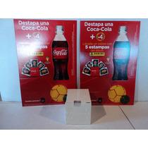 Panini Fifa Brasil Pack Estampas Y Cartones Promo Coca Cola