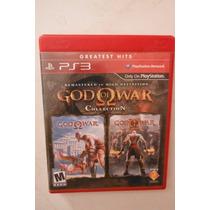 Ps3 Playstation God Of War Collection 1 & 2 Videojuego Epico