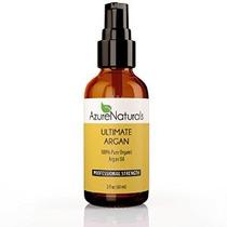 Azure Naturals Último Orgánica Aceite De Argán 2 Fl. Onza
