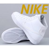 Tenis Nike Botín Piel Classic Caballero Nuevos 28.5-30cm Hm4