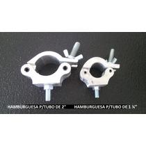 Hamburguesas De Aluminio Tipo Clamp