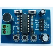 Grabador Reproductor De Voz-sonido Pic Atmega Robot Arduino