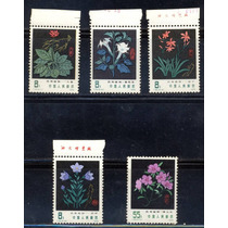Ch20-china Hiervas Medicinales T30 Serie Mnh 1978-