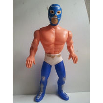 Lucha Libre - Figuras Blue Phanter Antiguas Vintage