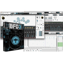 Bfd3 Software Bateria Drums 38gb Fxpansion Usb Midi Virtual