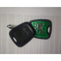 Llave Con Chip Virgen Para Codificar Peugeot 206, 207 Y 307