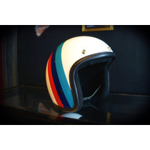 Casco Bobber Jet Marca Atop-head Modelo Atop Of Racing