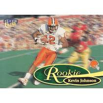 1999 Fleer Ultra Rookie Kevin Johnson Wr Browns