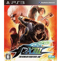 The King Of Fighters 13 Ps3 Japonesa
