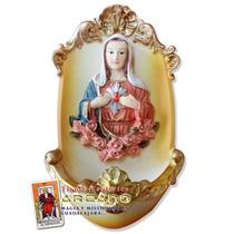 Figura Virgen María - Ceramica Y Resina