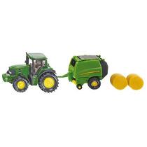 Toy Tractor Agricola - Siku John Deere W Baler Miniatura