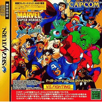 Marvel Vs Street Fighter Sega Saturn Japonesa