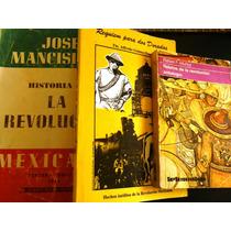 Historia De La Revolucion Mexicana.paq.3 Libros Y Envio.vbf