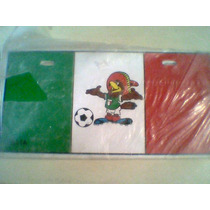 Placa Mascota Mundial Mexico 70 World Cup Mexico Aguila Pico