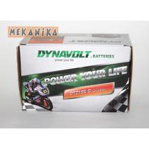 Batería Dynavolt Para Honda Cbr Y Yamaha R1 Y R6 . Mekanika