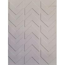 Scrapbook Folder Para Repujado Cuttlebug Sizzix Flechas Geo