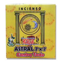 Incienso Astral 7x7 - Limpia Y Destruye Trabajos De Magia