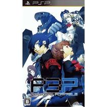 Persona 3 Portable Psp Japonesa