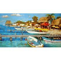 Isla Mujeres - Cuadros, Pinturas Al Oleo De Dmitry Spiros