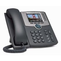 Teléfono Ip 8 Línea Con Pantalla Spa508g Poe Cisco