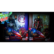 Ironman Mark 46 Tony Stark Civil War Figuarts Bandai Act 4