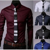 Camisas Slim Fit Moda Japonesa + De 30 Modelos Entrega Inmed