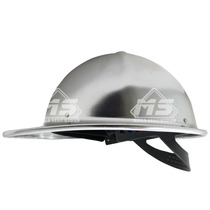 Casco Industrial Infra Aluminio Anodizado Suspension 4 Punto