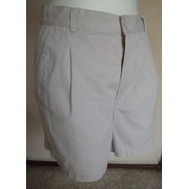 Old Navy Short Color Beige Talla 10!! Sht282