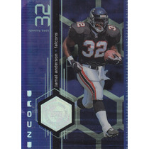 1998 Upper Deck Encore Driving Forces Jamal Anderson Rb
