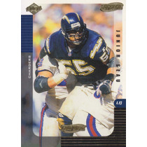 1999 Edge Supreme Gold Ingot Junior Seau Lb Chargers