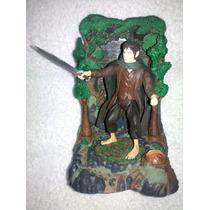 Figura + Esenario El Señor De Los Anillos Frodo Oferta..!!