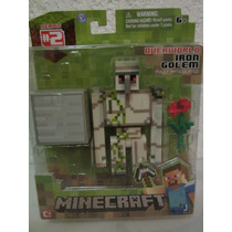 Figura De Minecraft Iron Golem Overworld Steve !!!