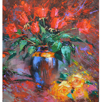 Roses - Cuadros, Pinturas Al Oleo De Dmitry Spiros