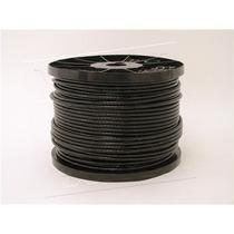 Cable De Acero Con Nylon Negro 7x19 3/16-1/4 Y 152m Gimnacio