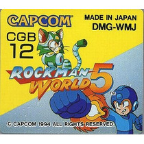 Rockman World 5 Gameboy Japonesa