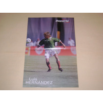 Poster Luis Hernandez Seleccion Mexicana 1999