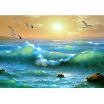 Golden Sunset - Cuadros, Pinturas Al Oleo De Dmitry Spiros