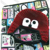 Gorras Tejidas De Animales Estambre Crochet Para Adulto Bebé