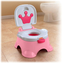 Potty Bañito Pink Princess Fisher-price