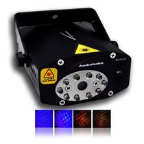 Laser Triple Efecto Audiobahn Potencia 200mw Luz Negra Xaris