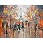 Evening, Paris - Cuadros, Pinturas Al Oleo De Dmitry Spiros