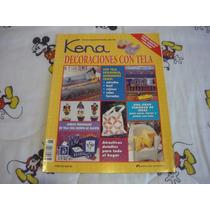 Kena Decoraciones Con Tela Revista Febrero 2001 Ed. Armonía