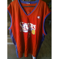Jersey Champion Allen Iverson Sixers #3 Xl Claritoys