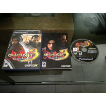 Onimusha 3 Demon Siege Completo Para Play Station 2, Checalo