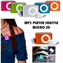 Reproductor Mp3 Shuffle Ranura Micro Sd Exp 32gb Usb Remate