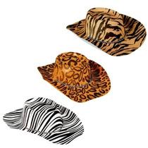 Sombrero Vaquero, Animal Print, Zafari, Bodas, Quinceaños,