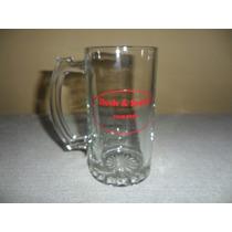 Tarro Cervecero De Cristal De A Medio Litro Serigrafiado