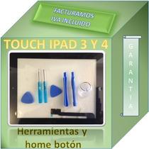 Touch Screen Digitalizador Ipad 3 3rd Negro Completo
