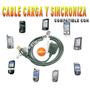 Cable Palm Usb Carga Sincroniza Lifedrive, Tx, T5, Treo