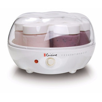 Maquina Para Hacer Yogurt Automatica + 15 Frascos Vidrio